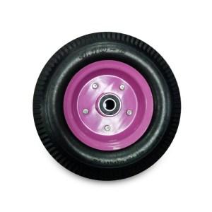 ชุดอะไหล่ล้อรถเข็นล้อPU12นิ้ว(BZ-019)สีชมพู