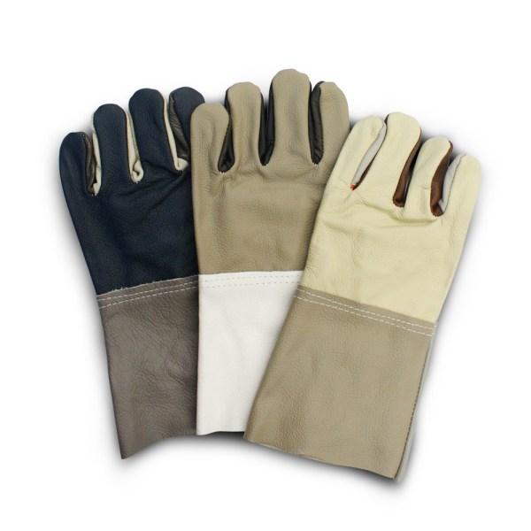 ถุงมือหนังเฟอร์แฟนซี13นิ้ว