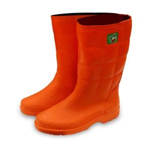 รองเท้าบู๊ทPVC A-1000 สีส้ม