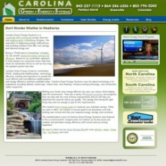 Carolina Green Energy Systems backed by Joomla! CMS