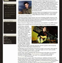 Mickey Harte Music : WordPress website launch by Big Boom Design
