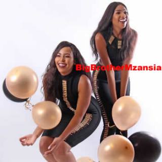 Blue Mbombo And Twin Sister Brown Celebrate Their Birthday