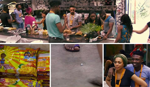Big Brother Naija 2017 Task, Housemates Cooking Indomie Noodles