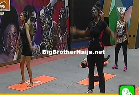 Big Brother Naija 2017 Day 5: Housemates' Morning Workout