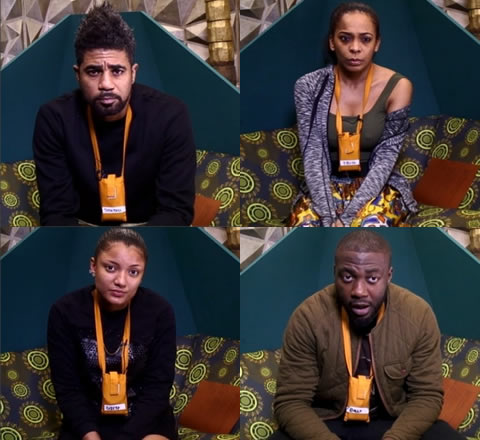 Big Brother Naija 2017 Week 2 Nominations Results