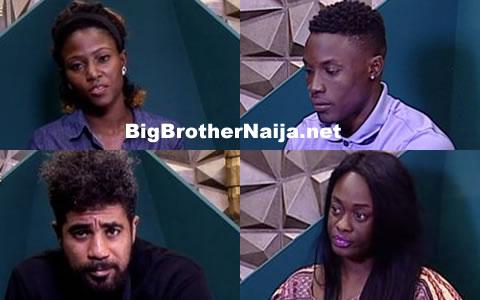 Big Brother Naija 2017 Week 4 Nominations Results