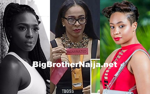 Former Big Brother Africa Housemates, Beverly Osu And Pokello Nare Involved In A War Over TBoss