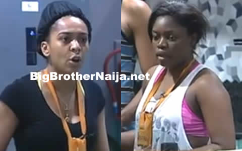 Bisola And TBoss Fight In The Big Brother Naija 2017 House