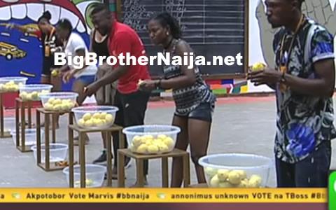 Big Brother Naija 2017 Day 66: Biggie Asks Housemates To Eat 20 Lemons In 30 Minutes