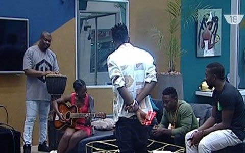Big Brother Naija 2017 Housemates Create A Song With Don Jazzy And The DNA Twins
