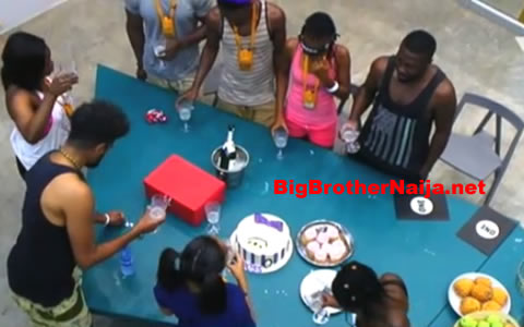 TBoss' Birthday Celebration In The Big Brother Naija 2017 House
