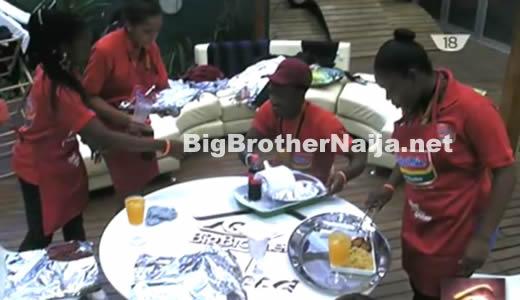 Big Brother Naija 2017 Day 71 Cooking Task