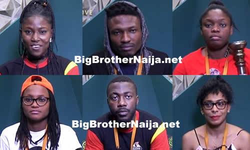 Top 6 Big Brother Naija 2017 Housemates