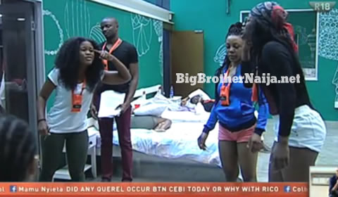 Cee-C And Alex's Fight Of Big Brother Naija 2018
