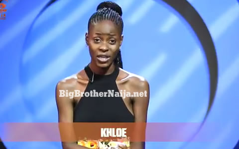 Evicted Housemate Khloe Re-enters The Big Brother Naija 2018 House