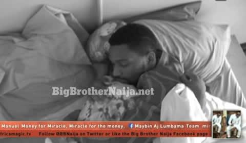 Alex Asogwa Cries In Bed With Tobi Bakre