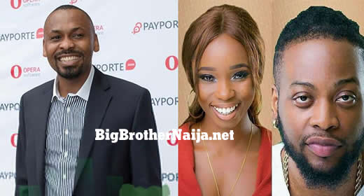 PayPorte C.E.O Eyo Bassey Comments On Teddy A And Bambam's Big Brother Naija 2018 Eviction