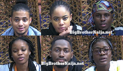 Big Brother Naija 2018 Week 10 Nominated Housemates