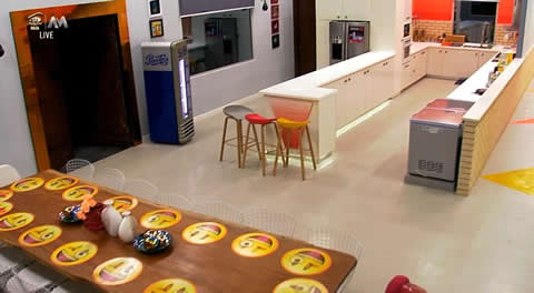 Big Brother Naija 2019 House Kitchen