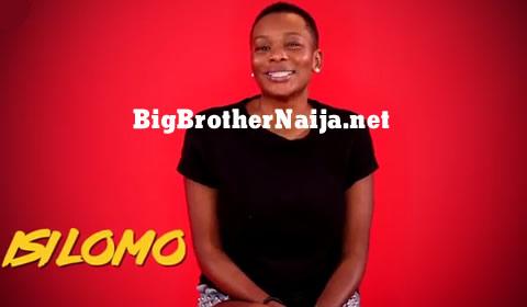 Isilomo Braimoh Big Brother Naija 2019 Housemate