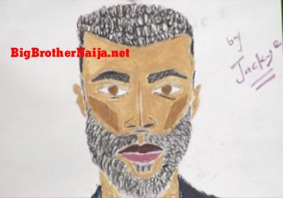 Mike Portrait Painting Big Brother Naija 2019