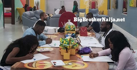 Big Brother Naija 2019 Portrait Paintings Task Day 22