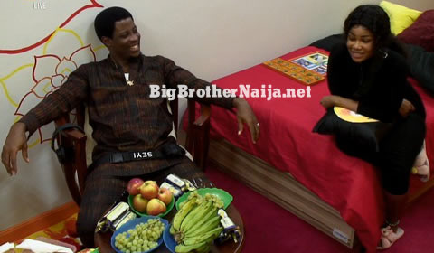 Seyi and Tacha Fake Evicted To Secret Room On Day 21