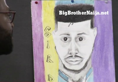 Sir Dee Portrait Painting Big Brother Naija 2019