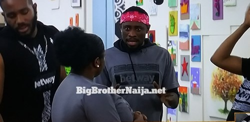 Trikytee wins Big Brother Naija 2020 week 7 Friday night Betway Arena games