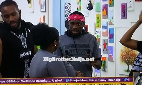 Trikytee wins Big Brother Naija 2020 week 7 Friday night Betway Arena games