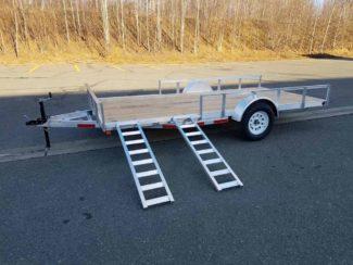 Baughman Products Aluminum 7x14 3K ATV Side Load Image 5
