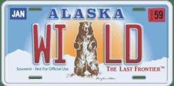 alaska-license-plate -wild
