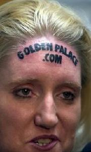 Goldenpalacecasinotattoo body sold