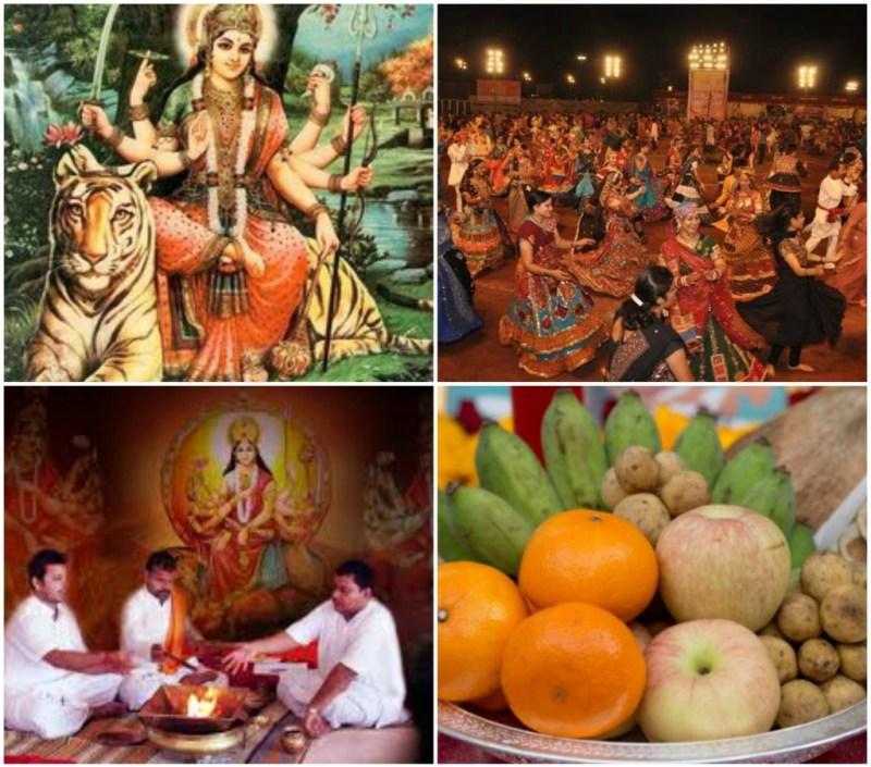 9 days of Navratri celebration