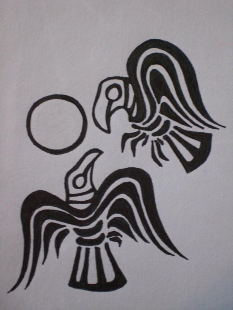 Huginn And Muninn -viking symbols and meanings