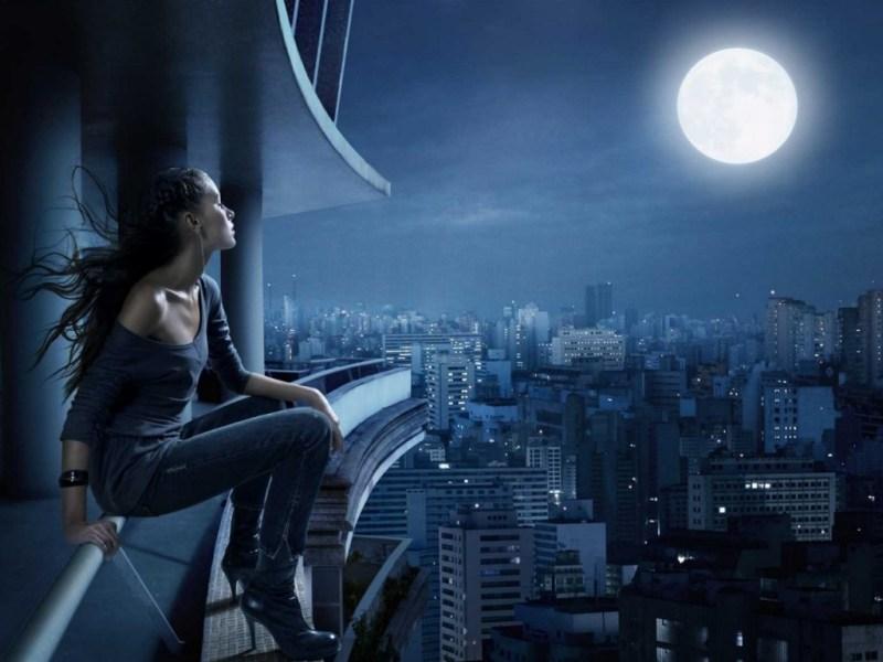 Moonbathing - full moon ritual ideas