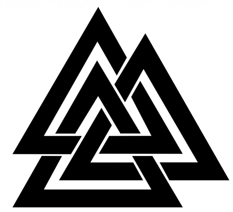 The Valknut - viking symbols and meanings
