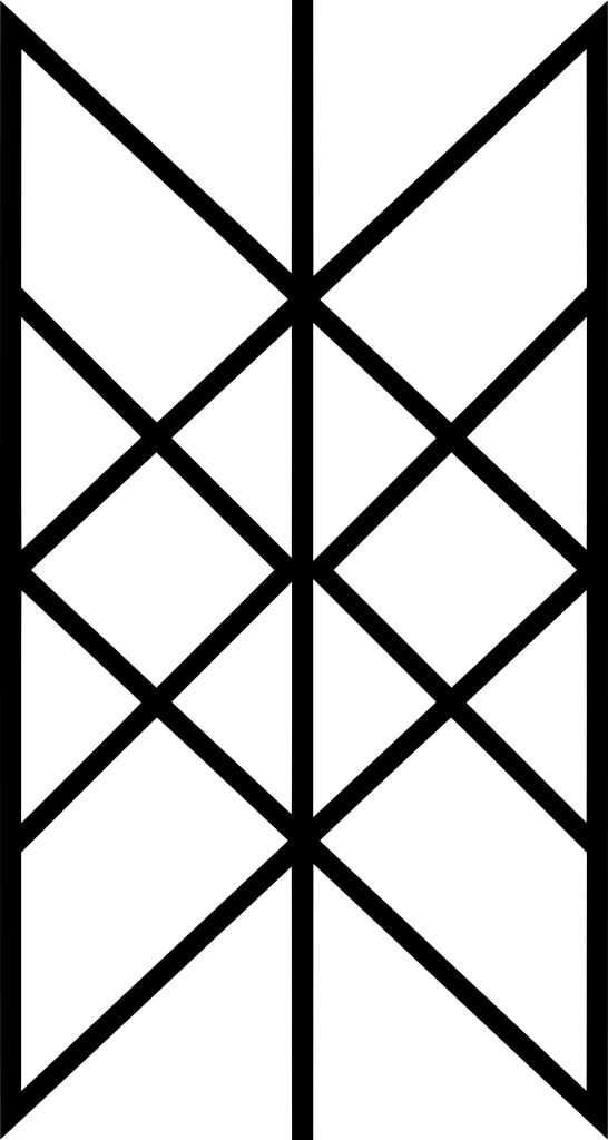 Web Of Wyrd (Skuld's Net) -norse symbols