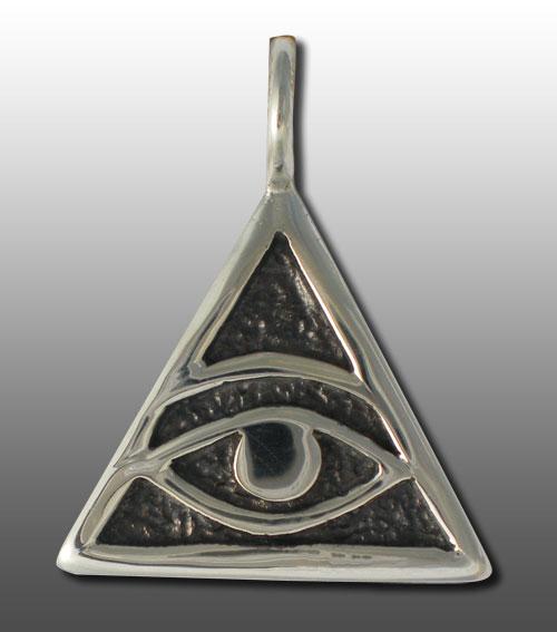 Triangle With Eye Satanic