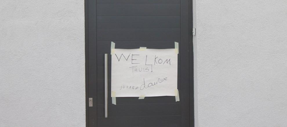 welkom thuis