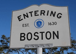 The City of Boston has been making sure that all moving trucks have legal parking permits.