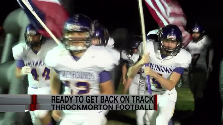 THROCKMORTON EXCITED WITH NEW COACH