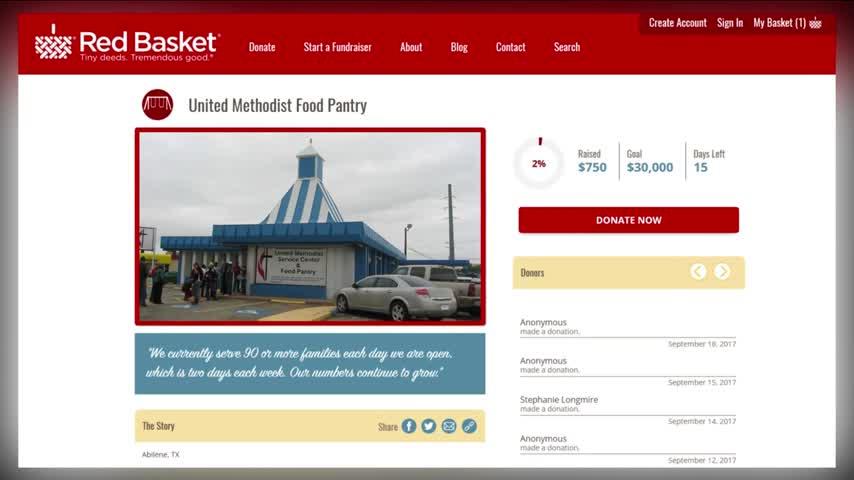 Local food pantry feeding more families, seeking donations