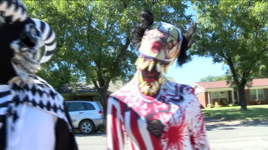 Haunted yard in Abilene_46347099
