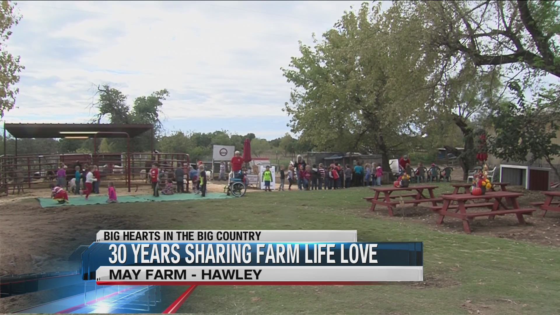 Big Hearts: May farm owner celebrates 30 years in business