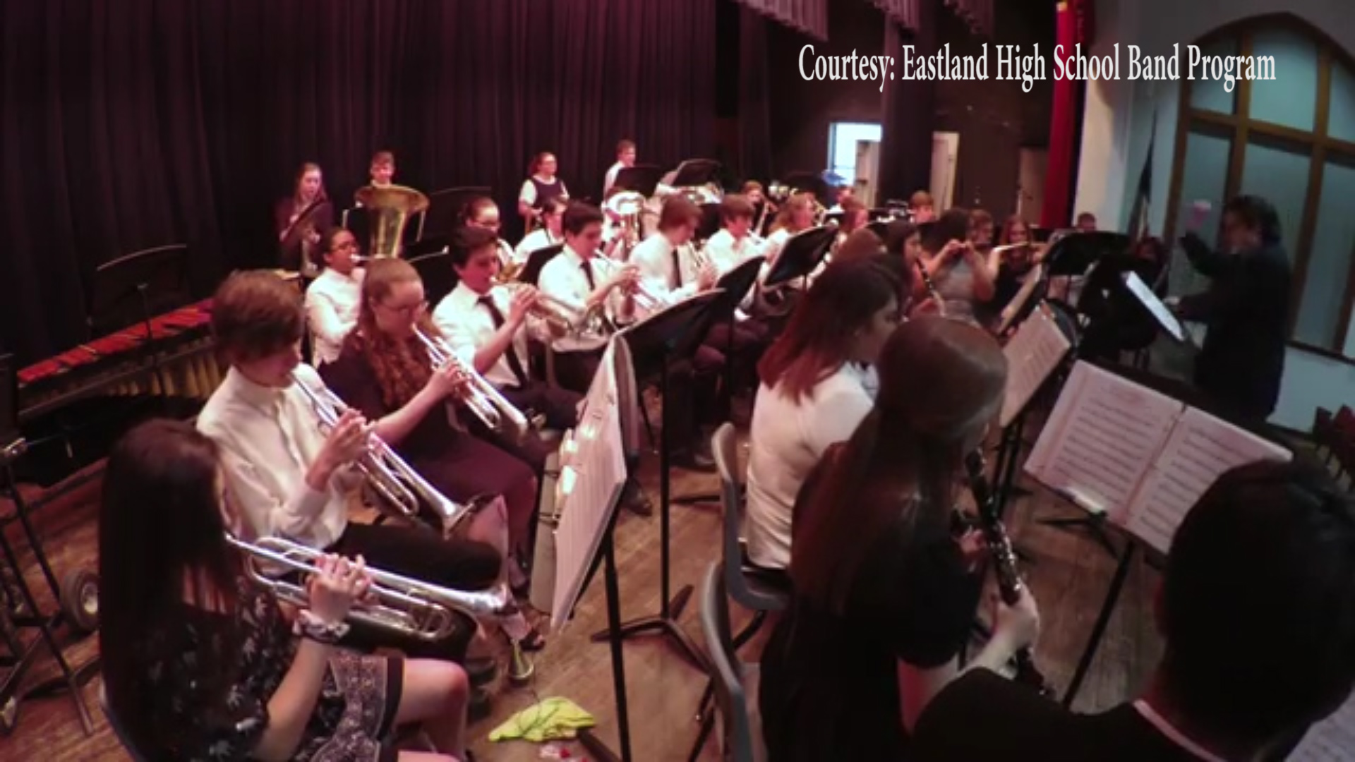 The Eastland High School Band