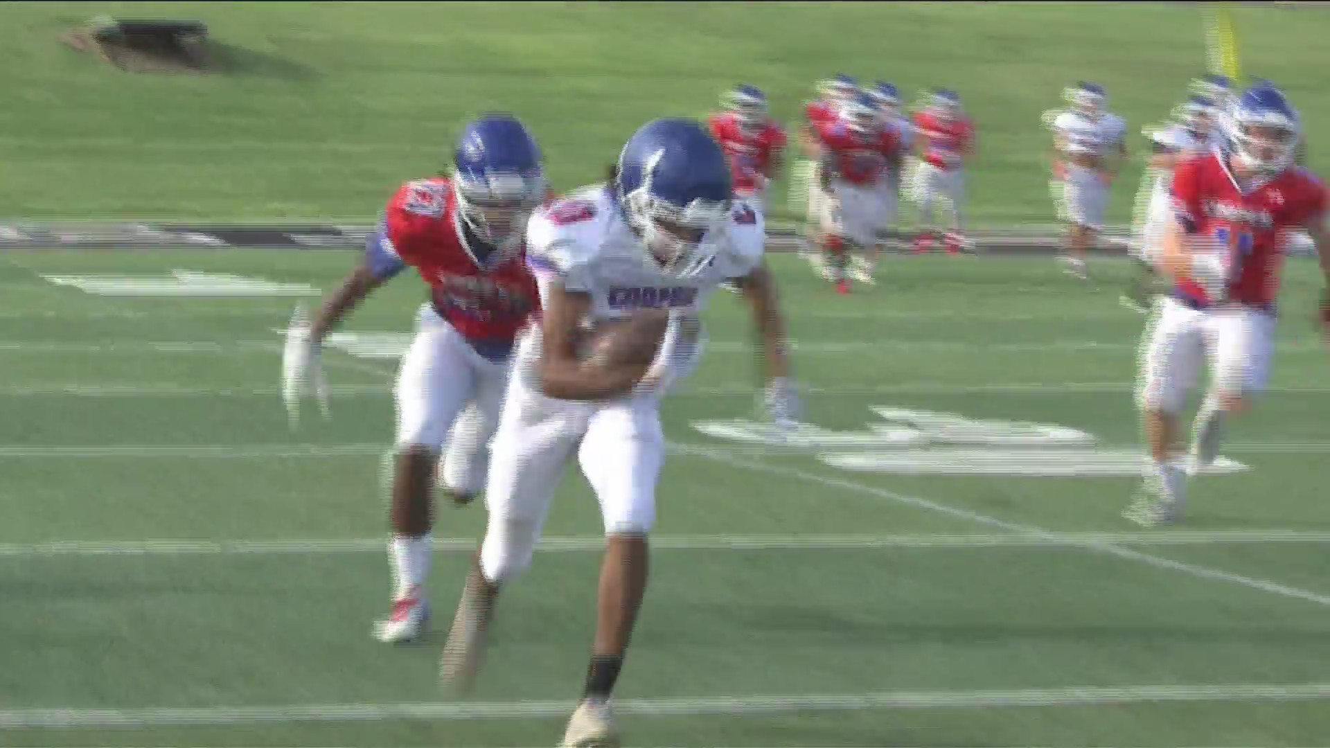 Cooper finishes Spring with Red and Blue Game