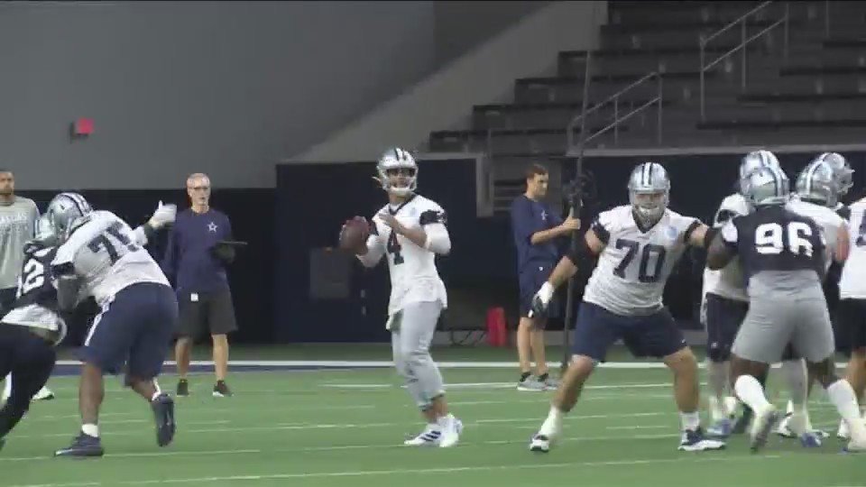 Witten sees Dak's improvement