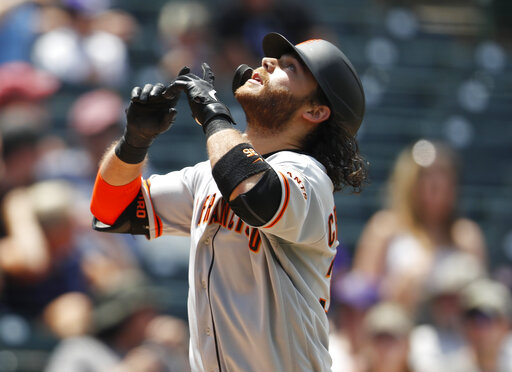 brandon crawford, r m