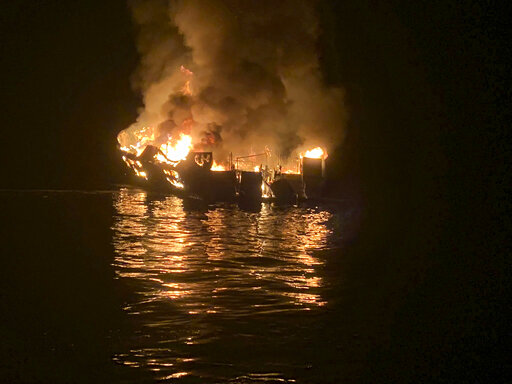 Fatal fire foiled rescue attempts by California boat crew